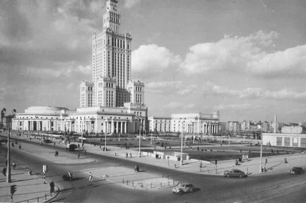PAŁAC KULTURY I NAUKI 1957