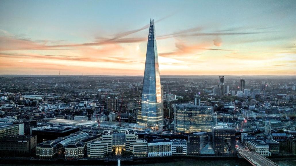 Shard najwyższy biurowiec w Wielkiej Brytanii